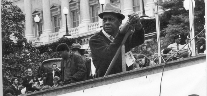 Julius Hobson was as active an activist as you could imagine, but he also collaborated with law enforcement for several years. (Image source: DC Public Library, Washingtoniana Division, Collection 1, Julius Hobson Papers.)