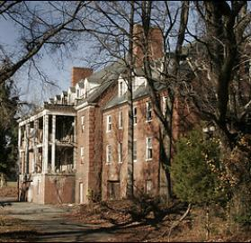 Now abandoned, Glenn Dale Hospital and Sanatorium was Washington's response to its Tuberculosis problem in the 1930s. (Photo source: Wikipedia)