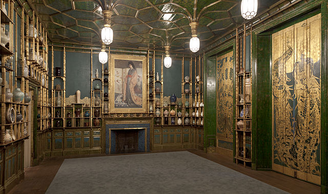 """The Peacock Room"" by Freer Gallery of Art and Arthur M Sackler Gallery. (Photo source: Flickr)"