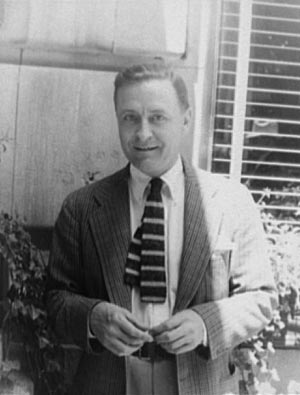F. Scott Fitzgerald in 1937. (Source: Library of Congress.)