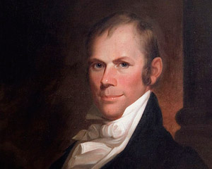 Henry Clay was enraged by statements made by John Randolph and challenged him to what might have been the weirdest duel in history. (Photo source: Wikipedia)