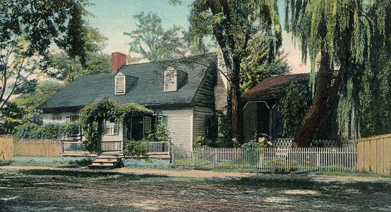 The famous Hungerford's Tavern- unfortunately, now replaced with a bank.  You'd think the tavern where Washington, Jefferson, Franklin, and others had a beer would have stuck around. (Photo source: Hungerford Civic Association)