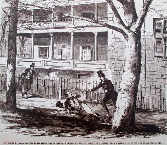 Cold-Blooded Murder in Lafayette Square: The Sickles Tragedy of 1859