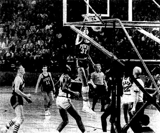 Lew Alcindor Dunk (Photo source: The Washington Star)