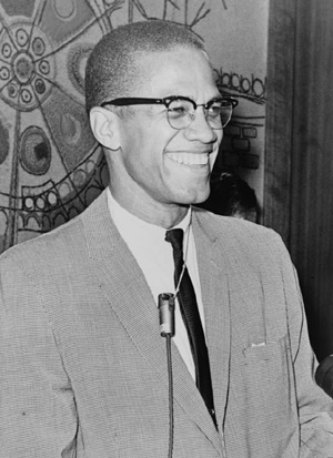 Malcolm X in 1964. (Photo source: Library of Congress.)