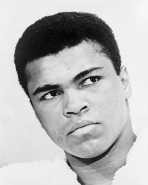 Muhammad Ali in 1967 (World Journal Tribune photo by Ira Rosenberg, Library of Congress)