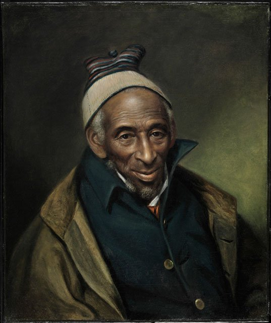 1819 portrait of Yarrow Mamout by Charles Willson Peale. (Source: Wikimedia Commons)
