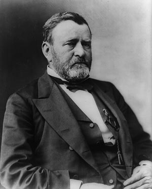In the 1870s, some accused President Grant of corruption due to his connection to the Seneca Sandstone Company.  (Photo source: Library of Congress Prints & Photographs Division)