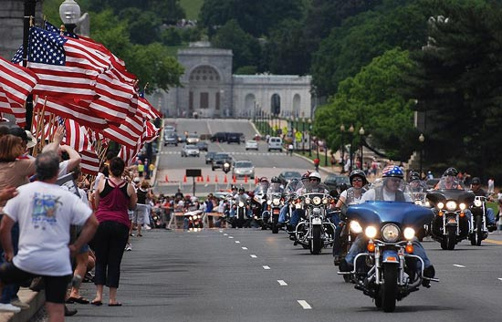 You've probably seen the Rolling Thunder Memorial Day commemoration before. And if by some miracle you haven't seen it, you've almost assuredly heard it. But do you know the history behind it? (Photo source: Wikipedia)