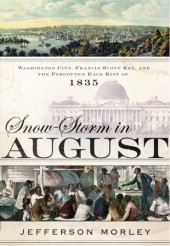 Snow Storm in August cover. (Source: Nan A. Talese - Doubleday website.)