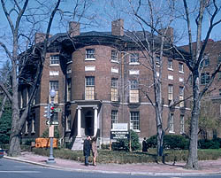 The Octagon House. (Photo courtesy of the DC SHPO)