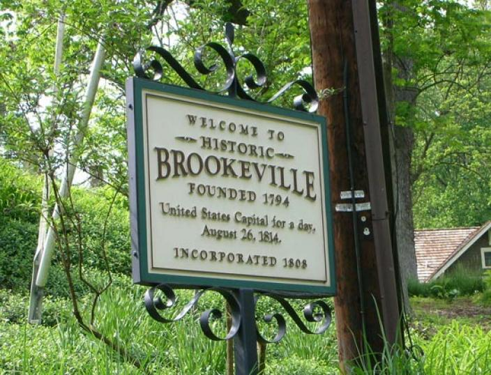 Almost 200 years later, Brookville, Maryland celebrates its brief moment in history. (Photo source: Flickr user dan reed!)