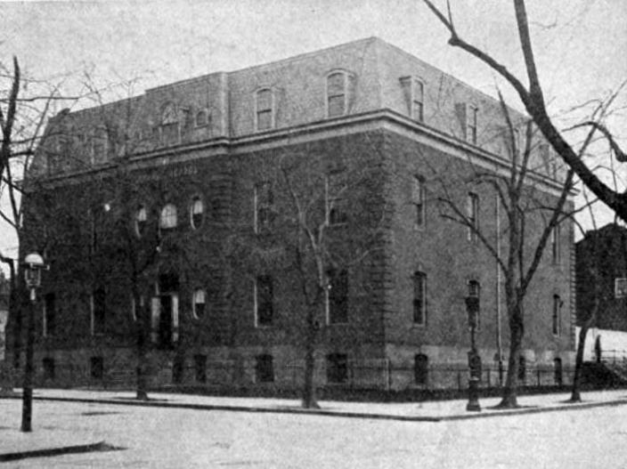 Lincoln-Bell School in 1908. (Source: The Hill is Home blog)