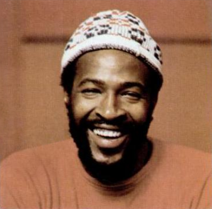 Marvin Gaye in 1973. (Source: Wikipedia)