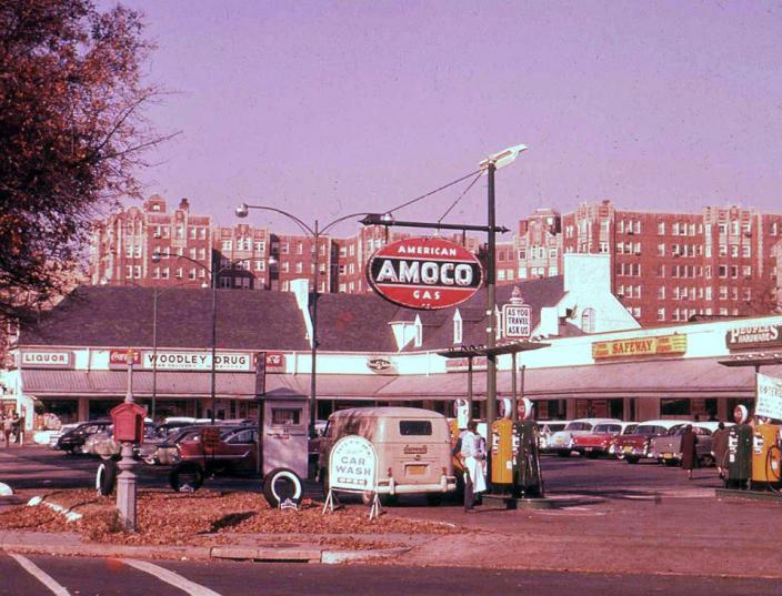 Park and Shop, ca. 1960 (credit: Cleveland Park Historical Society)