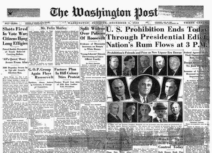 Happy Repeal Day, Maryland And Virginia! (Sorry, D.C
