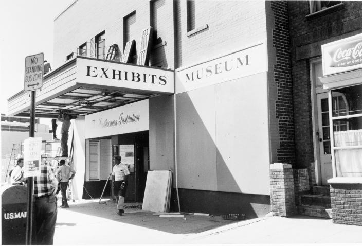 Carver Theater, First Home of the Anacostia Museum (Source: Smithsonian Archives)