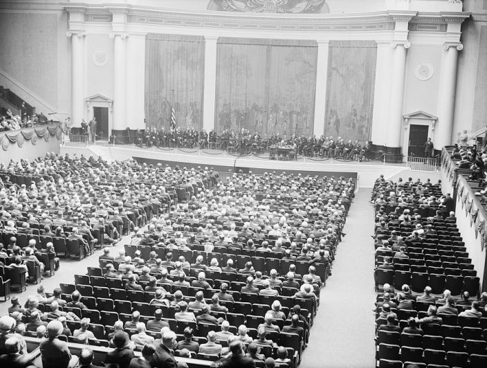 D.A.R. Constitution Hall in 1931. (Source: Library of Congress)