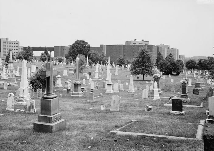 Congressional Cemetery (Source: Library of Congress)