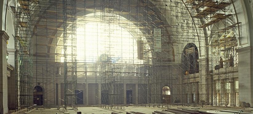 Union Station under renovation. (Source: Library of Congress)