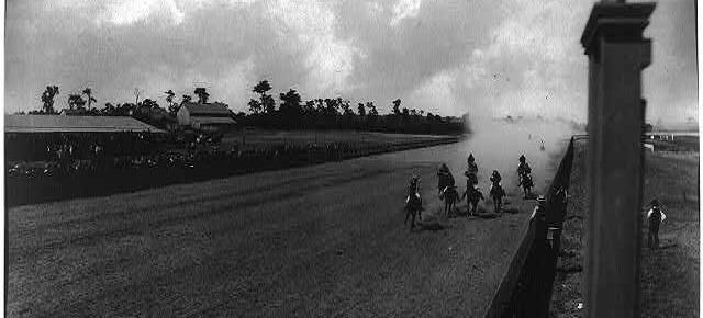 Horse race. (Source: Library of Congress)