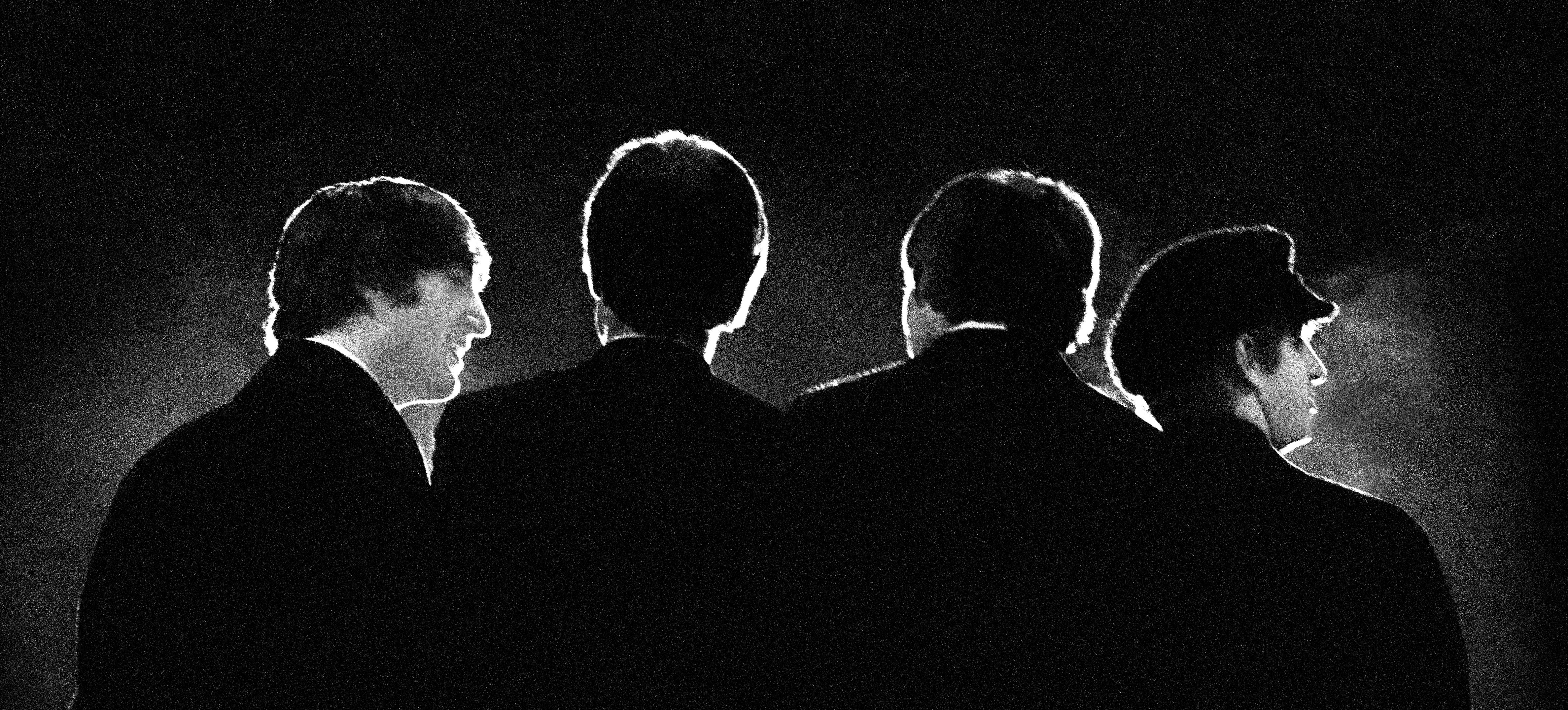 Beatles at the Washington Coliseum, February 11, 1964. (Credit: Mike Mitchell)