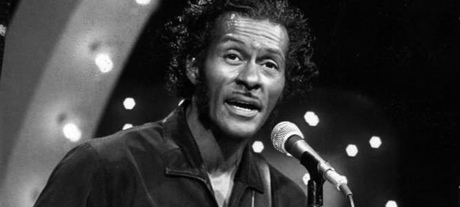 Chuck Berry in 1973. (Source: Wikipedia)