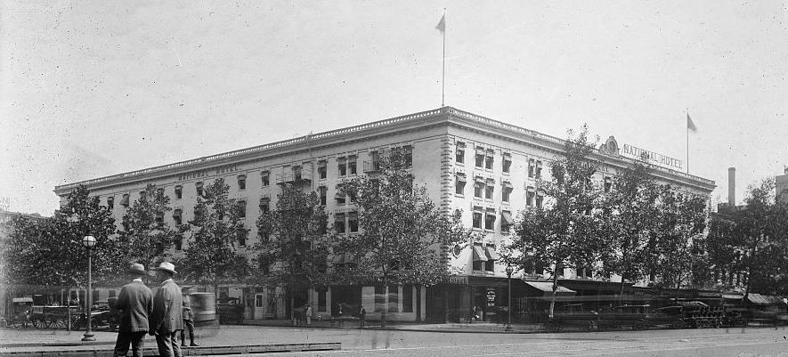 National Hotel c. 1909 (Source: Library of Congress)