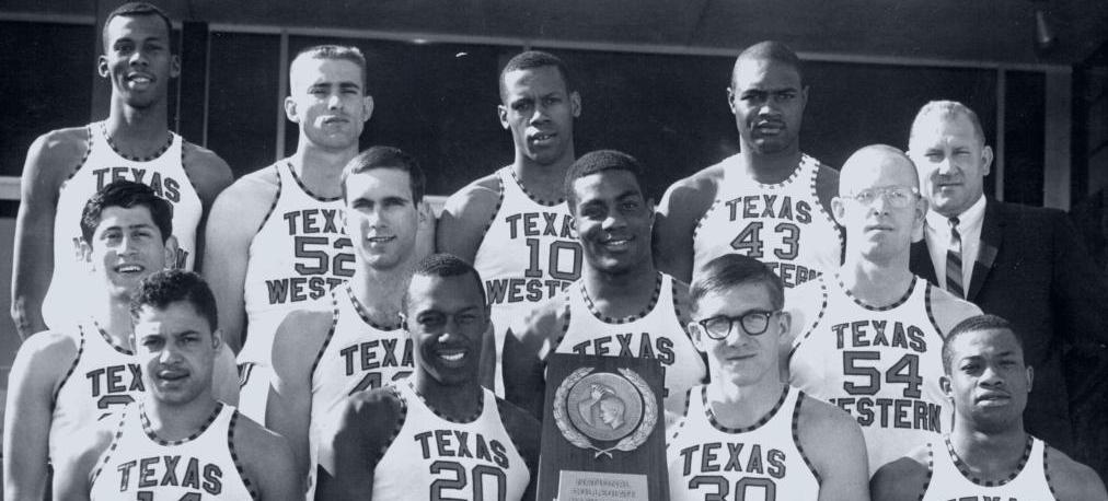 Texas Western's NCAA Championship victory over all-white Kentucky at Cole Field House in 1966 went way beyond sports. (Photo source: El Paso Times)
