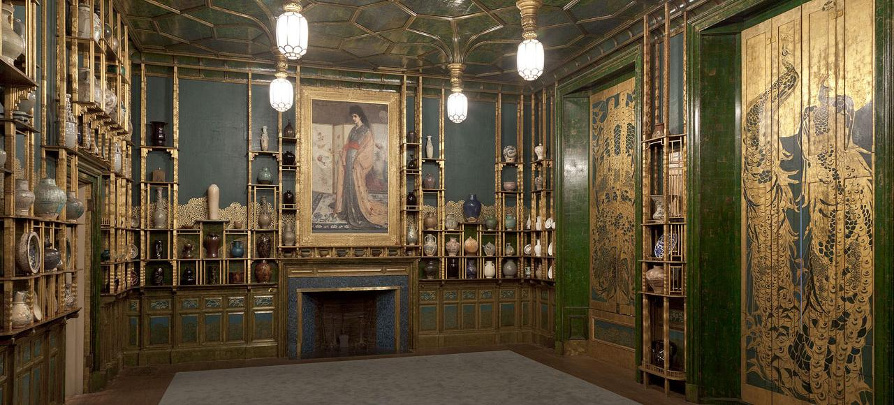 The Peacock Room (Source: Wikipedia, used via CC BY-SA 2.0)