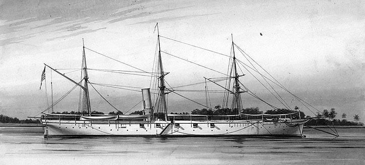 USS Pawnee (Source: Wikipedia)