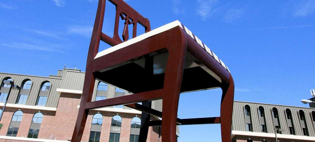 The Big Chair in Anacostia (Source: Flickr user stgermh. Used via Creative Commons license.)