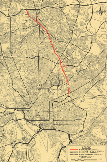 The Roads Not Traveled D C Pushes Back Against Freeway Plans