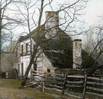 Known as Dickey's Tavern, Inn, and Farmhouse, this 18th century barn was said to be Matildaville's first and last standing building.