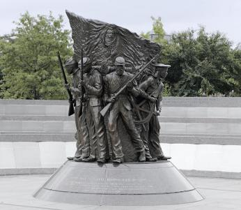 African American Civil War Memorial and Museum (Source: Wikimedia Commons)