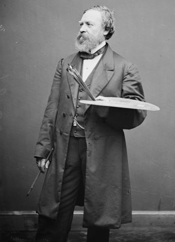 Constantino Brumidi (Photo source: Architect of the Capitol)
