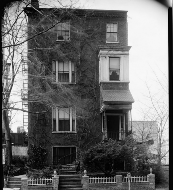 House of Josias Wilson King in Washington D.C. (source: Library of Congress)