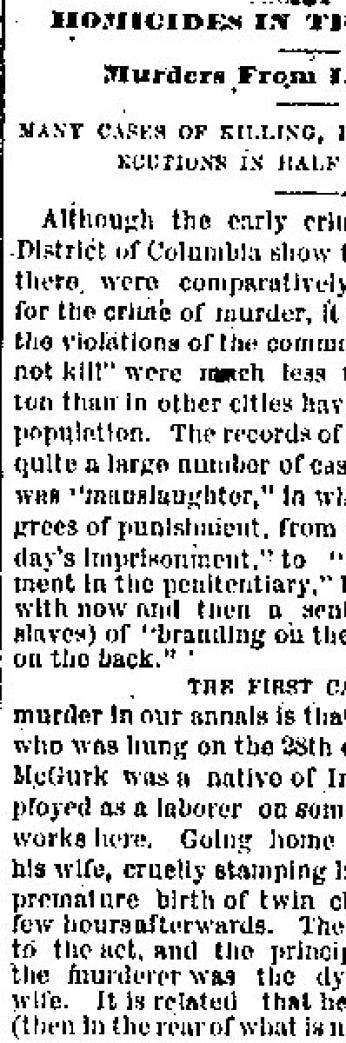 Evening Star article from March 25, 1882.