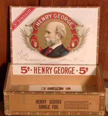 His face was also commonly printed on things like cigar boxes. (Image source: hgarchives.org)