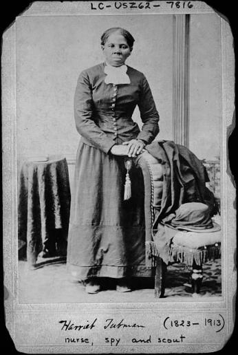 Harriet Tubman Portrait (Source: Wikimedia Commons)