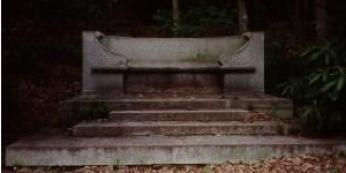 This bench in Rock Creek Park commemorates French ambassador Jean Jules Jusserand, who was the only man who could keep up with Teddy Roosevelt on a hike in the park. Credit: National Park Service