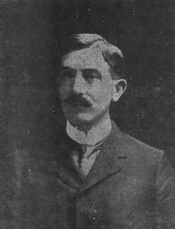 Photograph of Crandal Mackey (Source: Washington Times, May 22, 1904)