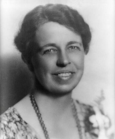 First Lady Eleanor Roosevelt in 1933. Credit: Wikimedia Commons
