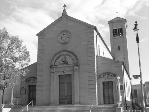 Holy Rosary Church, which was built by Italian immigrants in the early 20th Century. Credit: Farragutful, via Wikimedia Commons