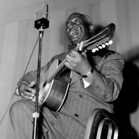 Lead Belly, National Press Club, Washington, D.C., between 1938 and 1948