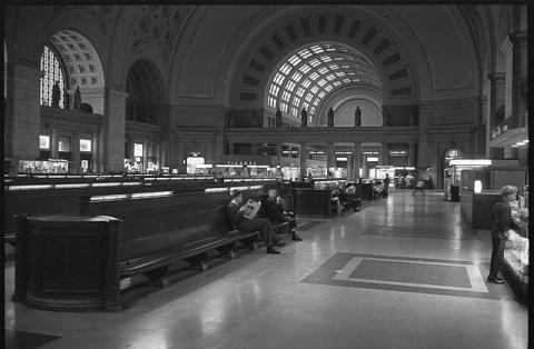 Union Station in 1963, prior to a botched 1970s repurposing that nearly destroyed the building. Credit: National Archives