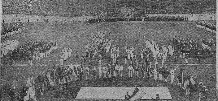 1928 Summer Olympics Opening Ceremony