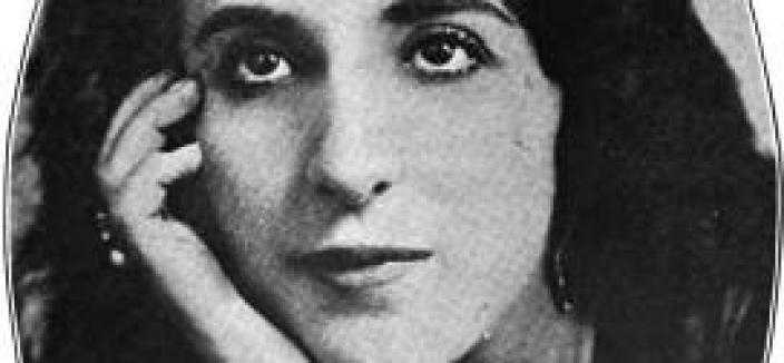 "The rise and fall of ""vampire"" Despina Davidovitch Storch was big news in 1918. The Washington Times ran an 11 part series about her. (Photo source: Wikipedia)"
