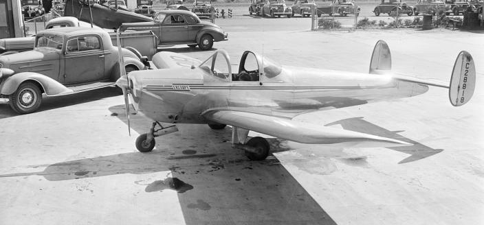 Ercoupe plane. (Source: The Peter M. Bowers Collection/The Museum of Flight)