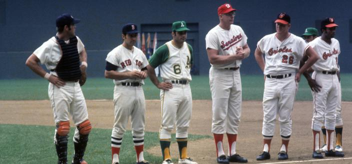 American League players at the 1969 All-Star game